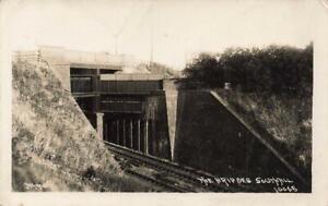 1926 SOUTHALL The Bridges LONDON Photo  Postcard