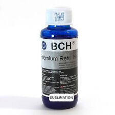 BCH Premium 100 ml Cyan Sublimation Ink for Epson (IS100C-AE)