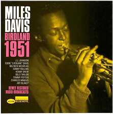 Miles Davis Birdland 1951 CD sobre azul Note (2004)