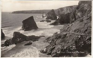 High Tide At Bedruthan Steps, Nr ST. COLOMB MINOR, Cornwall RP