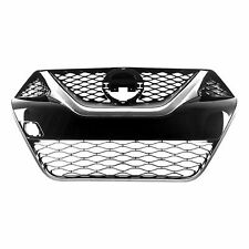 fits 2016-2017 NISSAN MAXIMA S SL SV SR Front Bumper Grille Black and Chrome NEW