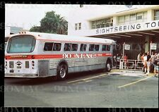 Los Angeles Bus Terminal Gray Line 1989 Original 35mm Slide