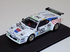 "1/43 Quartzo BMW M1 car 151 from 1985 24H of  LeMans ""MSW""  Q3049"