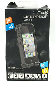 """Open Box Belt Clip by Lifeproof for 4.0"""" iPhone 4 & iPhone 4s Black"""