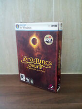The Lord of the Rings Online Shadows of Angmar for Windows PC on DVD