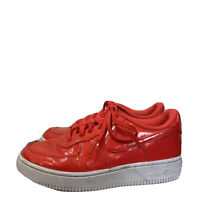 Nike Air Force 1 LVS UV GS Youth Size 2.5 Siren Red Pink Shoes A02287-600