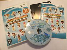 GIOCO Nintendo Wii JOB Island Hard LAVORATORI + scatola istruzioni completo PAL