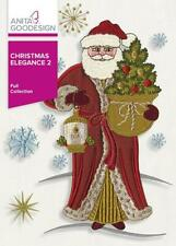 Christmas Elegance 2 Anita Goodesign Embroidery Machine Design CD NEW 102AGHD