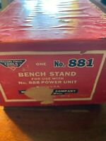 Millers Falls Tools, Vintage Bench Stand, No. 881- Used