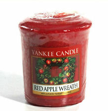YANKEE CANDLE Sampler /  Votive RED APPLE WREATH