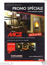 PUBLICITE 2014 - ECOFLAMMES - Spécialiste du chauffage à pellets