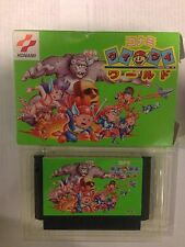 NINTENDO NES Famicom Konami Wai Wai World with box RARE