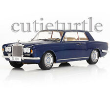 Paragon Models Rolls Royce Silver Shadow MPW 2 Doors 1:18 Blue Thomas Crown