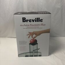 Breville JE98XL Juice Fountain Plus Centrifugal Juicer, Stainless Steel, New