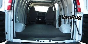 Bedrug Vrg96  Vanrug Carpet Floor Liner Express Savana Standard Length 1996-2014