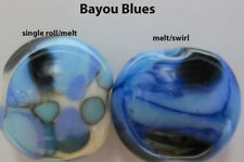 "Lampworking Glass Frit - FABFrit  Coe 104,,USA ""BAYOU BLUES"",1 oz, size: Mixed"