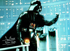 Dave PROWSE SIGNED Autograph Darth VADER Film Star Wars 16x12 Photo E AFTAL COA