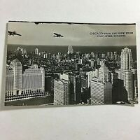 "VINTAGE 1933 Chicago Mini Photographs Souvenir Pictures 3X2"" Aerial View"