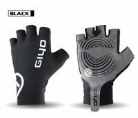 Half Finger Cycling Gloves Bike Gel Padded Finger-less Outdoor Sport Jogging
