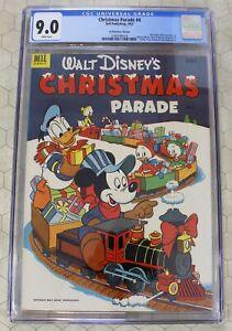 CHRISTMAS PARADE #4 (1952) CGC 9.0 (Dell Publishing) 35 cent variant Pre-Comics
