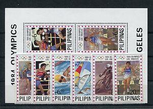 Philippinen 1594/99 Block 24 postfrisch / Olympiade ......................1/1560