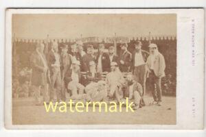 Officers, 1st Surrey Rifles, 1870, CDV