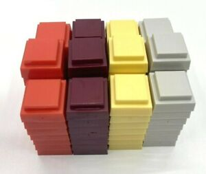 Game Parts Pieces Advance to Boardwalk 1985 Parker Brothers 88 Hotel Units Token