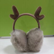 Girl Winter Cat Earmuffs Faux Fur Warm Women Ear Protect Cute Antlers Soft 8C