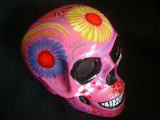 Day Of The Dead Sugar Skull, talavera Mexican wall Art, Mask catrina