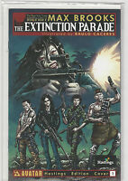 Extinction Parade #1 Hastings Variant Avatar Comics MAX BROOKS World War Z NM+