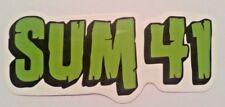 "Sum 41~Punk Skate Rock~Decal Sticker Adhesive Vinyl~3 5/8"" x 1 1/2""~Ships FREE"