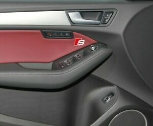 Audi interior trim s-line sticker decal logo fits A6 A7 A8 A3 A4 Q7 Q5 RS sline