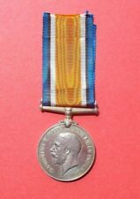 BRITISH WAR MEDAL 1914-18 AWARDED TO PTE H.D. MARTIN