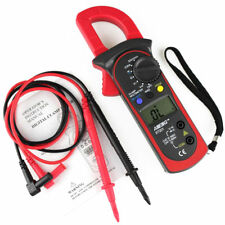 Digital LCD Clamp Multimeter OHM Amp Volt Meter AC/DC Current Resistance Tester