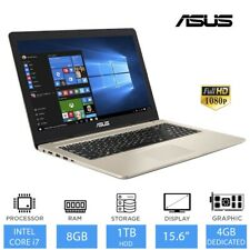 "ASUS VivoBook Pro 15.6"" Best Gaming Laptop Intel Core i7-8750H, 8GB RAM, 1TB HDD"