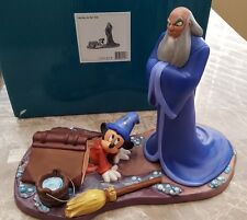 """WDCC """"Oops"""" Mickey and Yen Sid Disney's Fantasia 2000 in Box"""