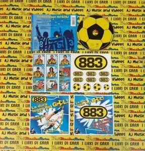 CD 883 La dura legge del gol con pallina+figurine MAX PEZZALI 1997 no lp mc(XI2)