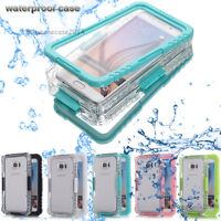 Waterproof Shockproof Hard Case Cover Samsung Galaxy Note 9 8 S7 iPhone 8 7 Plus