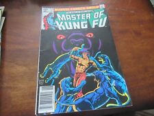 Master of Kung Fu Comic Book #113  Marvel Comics 1982