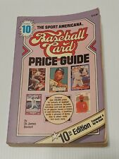 The Sport Americana Baseball Card Price Guide #10 Dr James Beckett