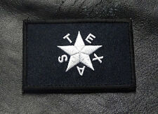TEXAS STAR FLAG REVOLUTION LONE STAR TX STATE MORALE HOOK PATCH