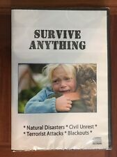 Survive Anything CD-ROM Course Natural Disasters Civil Unrest Blackouts