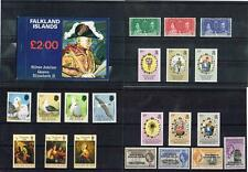 FALKLAND ISLANDS / SOUTH GEORGIA - SETS/MS/BOOKLET MINT NEVER HINGED (3 SCANS)