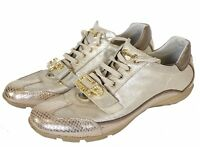 Cesare P by Paciotti Womens Shoes Size-37 uk-4 Leather Sneakers Worn Twice