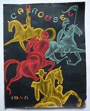 Carrousel de la Cavalerie de SAUMUR. Programme 1948.