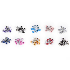 100pcs 3mm Scrapbook Eyelet Random Mixed Color Metal eyelets For DIY clothes Cp