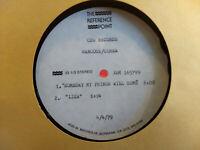 HANCOCK/COREA Rare ACETATE LP Columbia XSM 165799 Herbie Chick JAZZ FUSION 1979