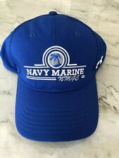 Nwt New Under Armour Blue Hat Nmgc Navy Marine Golf Course Pearl Harbor Hawaii