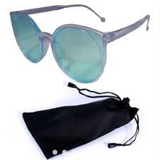 ANT Women Cat Eye Sunglasses Fashion Eyewear Shades Glasses - BLUE