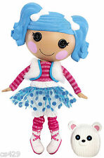 "6.5"" Lalaloopsy mittens fluff 'n' wall safe sticker border cut out character"